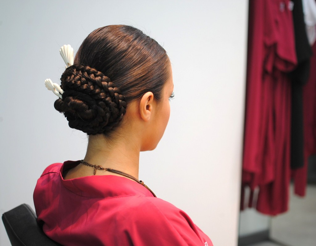 Peinado fiestas del pilar