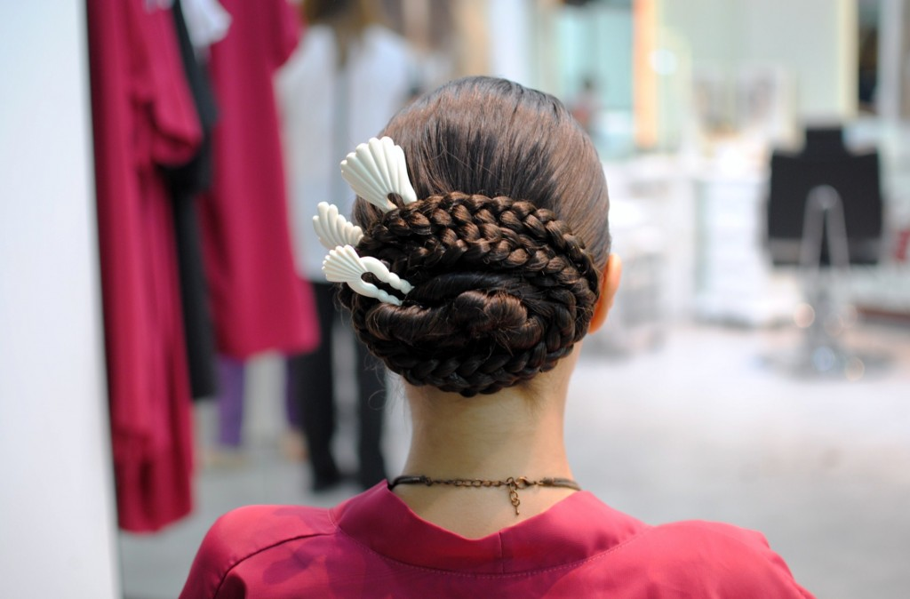 Peinado típico aragonés